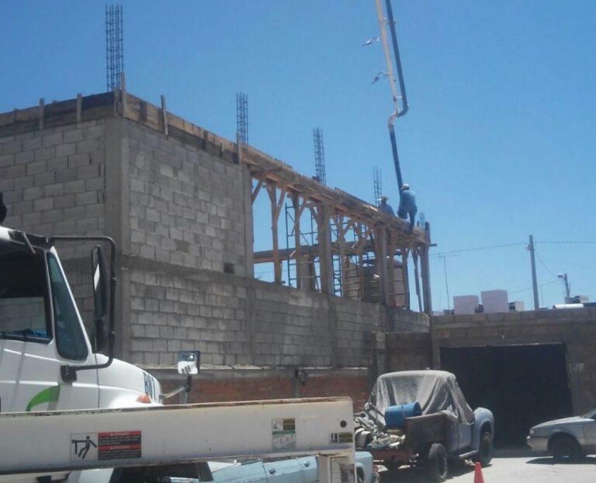 concreto premezclado para casas slp