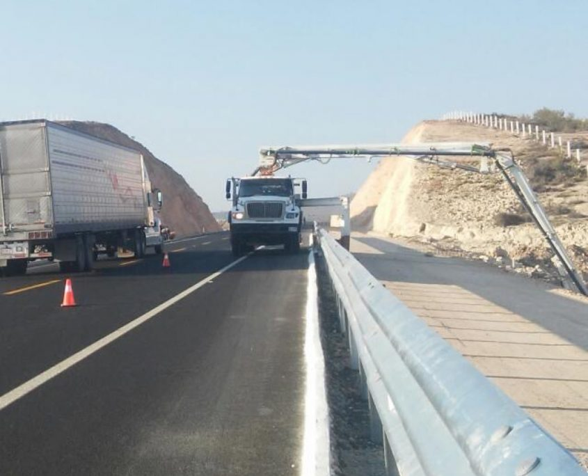 concreto premezclado para puentes obras federales